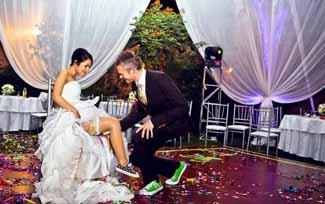 Liguero una de las tradiciones de boda en españa