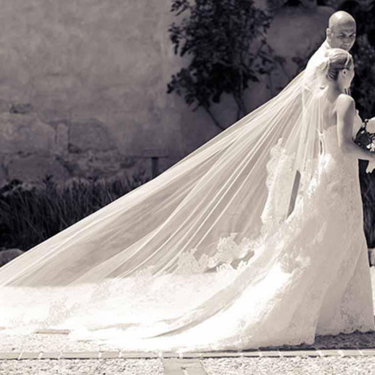Que significa el velo de novia