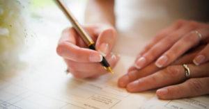 Documentos necesarios para casarse