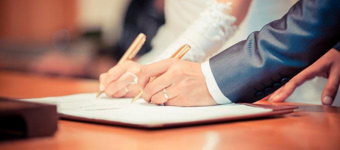 Papeles para casarse