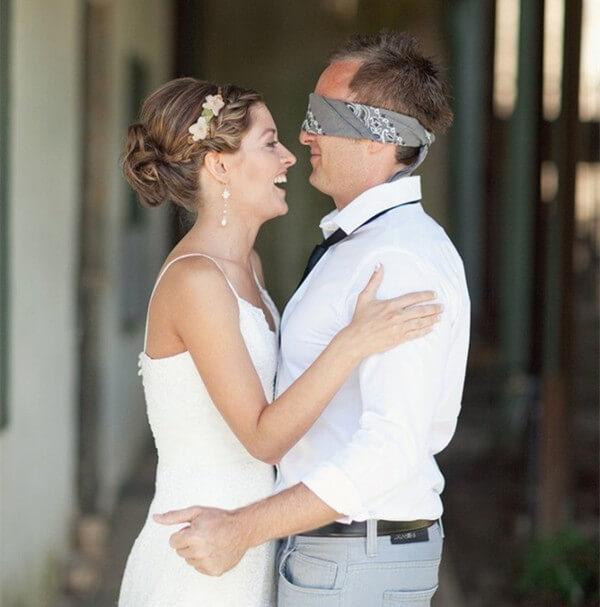 Supersticiones de Boda - Novio no puede ver a la novia